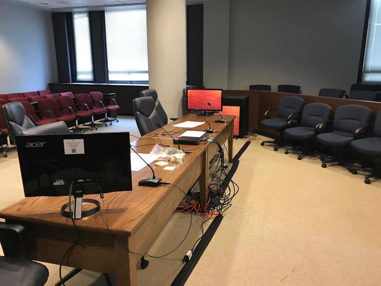 Thomas & Thomas Court Reporters Provides A/V Equipment Rental for Trial at Douglas County Courthouse
